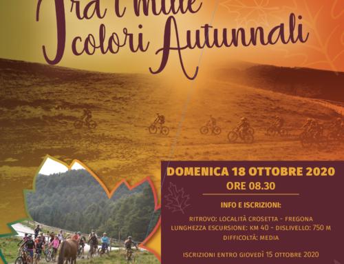 18 ottobre 2020 Autunno di colori in Cansiglio