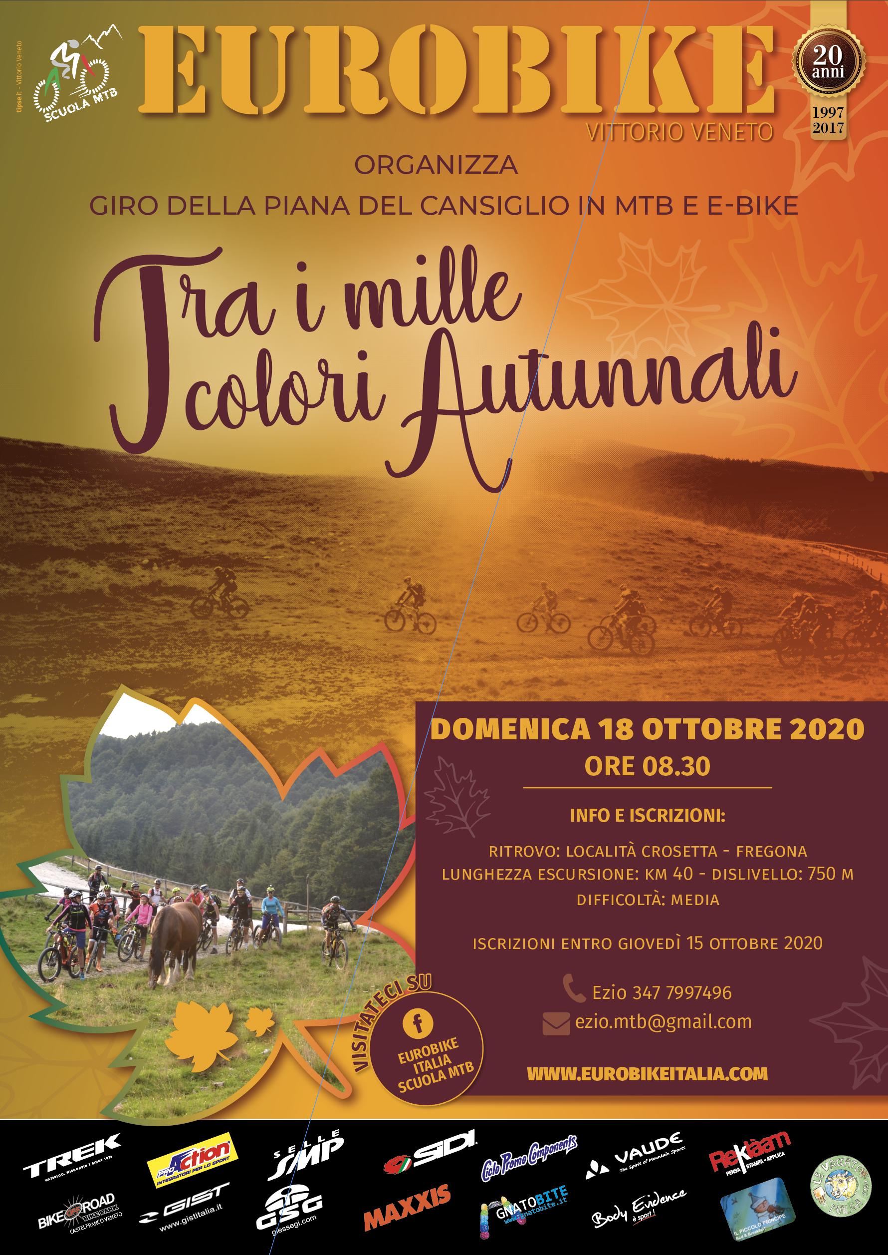 18.10.2020: Escursione d'autunno in Cansiglio